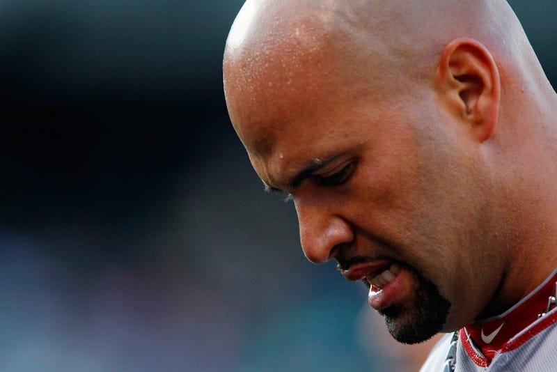 Illustration for article titled Report: Albert Pujols Likely Done For Season
