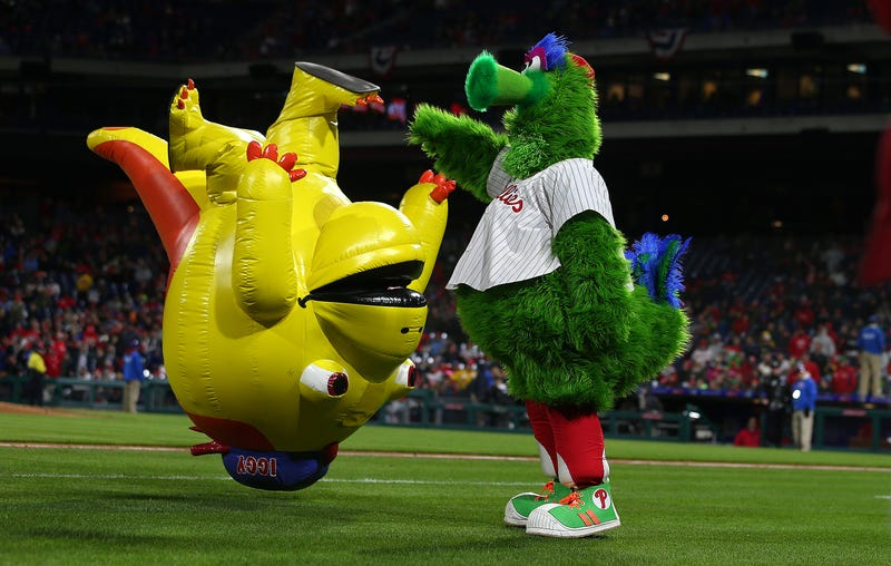 Illustration for article titled Phillies File Lawsuit To Prevent Phanatic From Hitting Free Agency