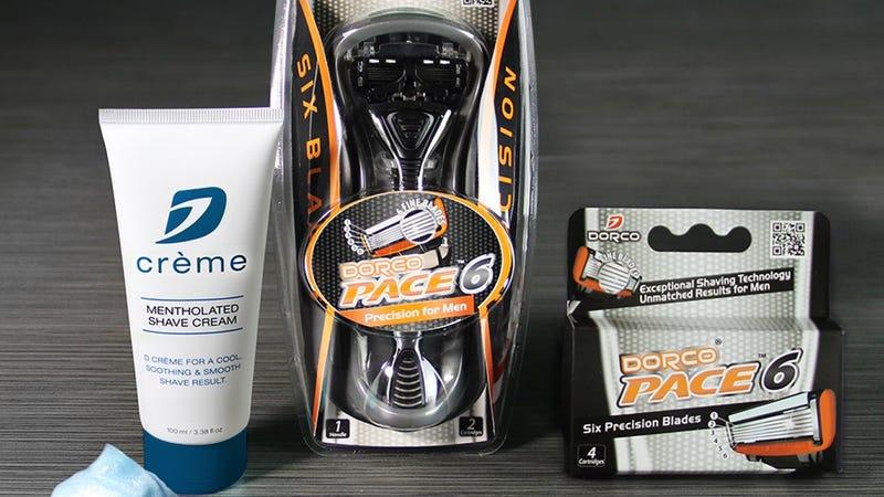 Dorco Pace 6 Shaving Set | $10 | Dorco | Promo code KINJA412X