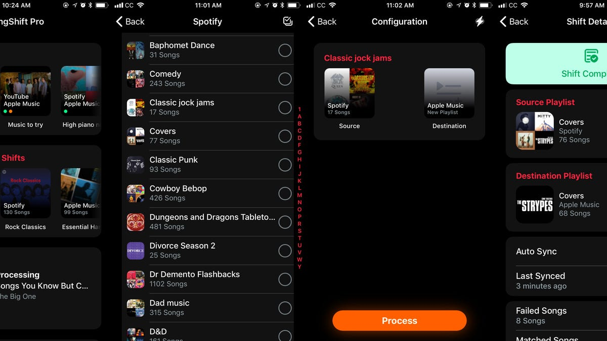 Move Your Streaming Music Between Spotify, Apple, and Google With