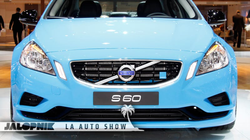 Illustration for article titled Volvo S60 Polestar Concept: The First 508 Horsepower Swedish Sexy Liveshots