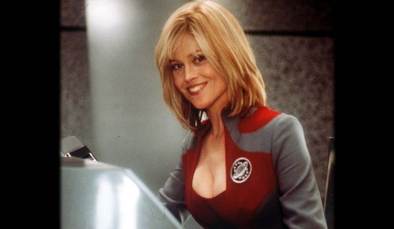 """Illustration for article titled Producer Mark Johnson on the Galaxy Quest Sequel: """"It's not over."""""""