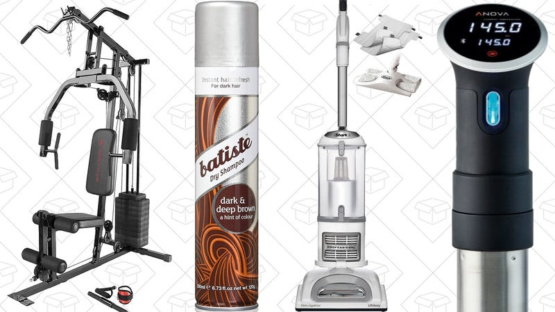 Illustration for article titled Today's Best Deals: Sous-Vide, Home Gym, Powerful Vacuum, and More