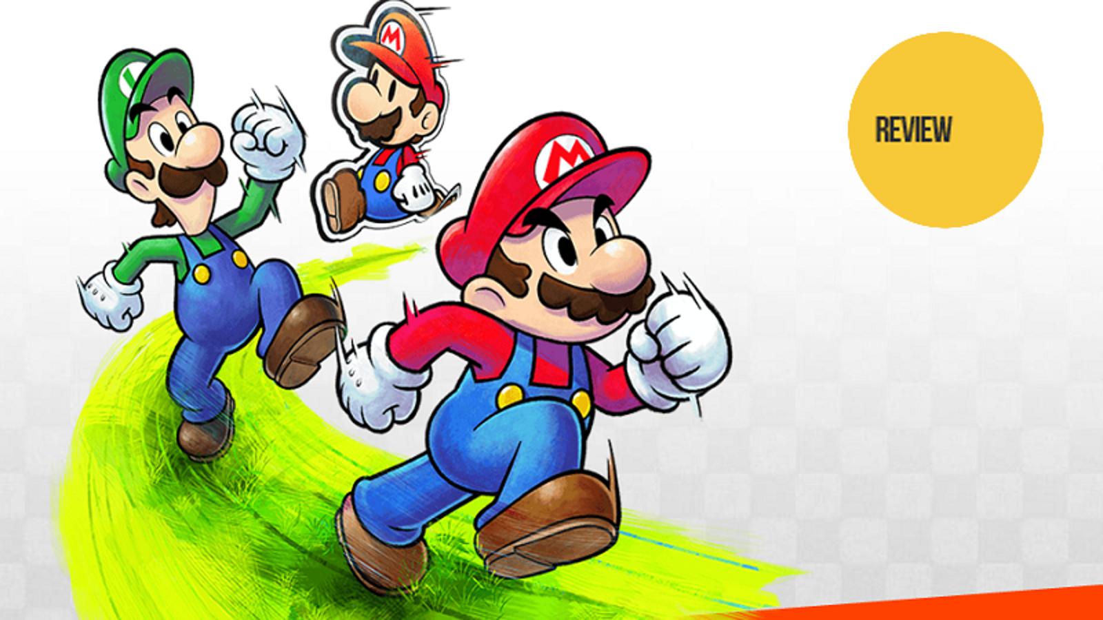 Mario Amp Luigi Paper Jam The Kotaku Review