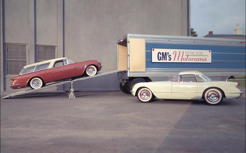 Illustration for article titled General Motors Motorama, 1953