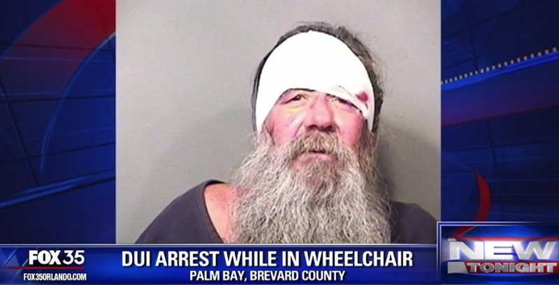 Illustration for article titled Florida Man Arrested for DUI While in Electric Wheelchair
