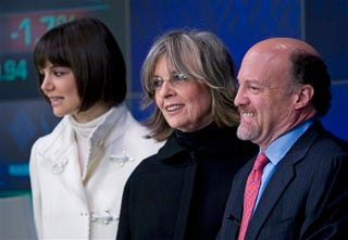 Illustration for article titled What Do Katie Holmes, Diane Keaton, & Jim Cramer Have In Common?