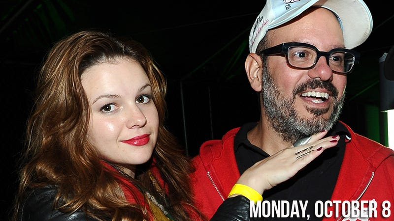 Illustration for article titled Amber Tamblyn and David Cross's Wedding Was Basically an Alt-Music Festival