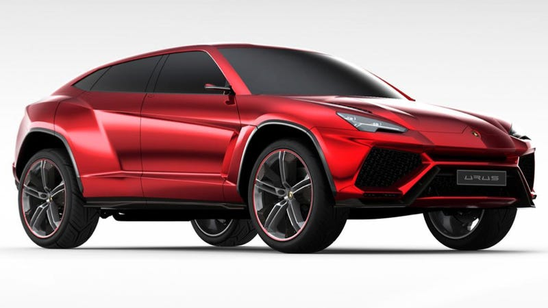 Illustration for article titled Lamborghini Urus SUV Reportedly Headed To Production in 2017