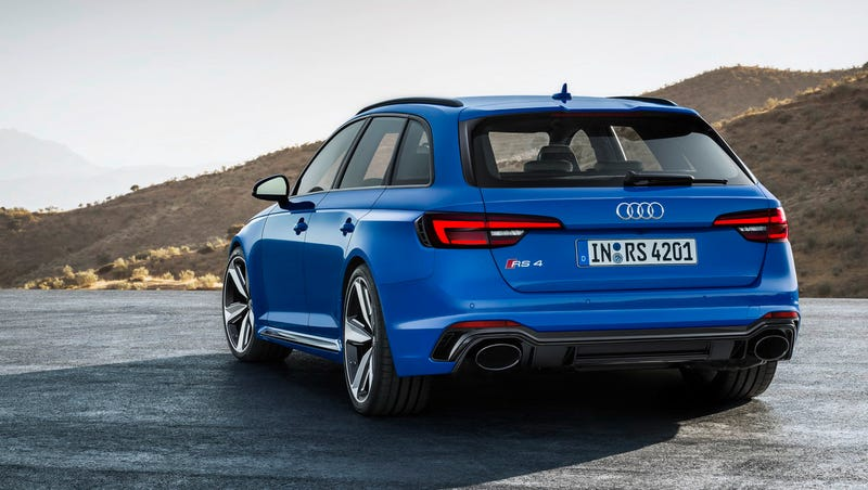 Illustration for article titled I Don't Ask For Much But The 2018 Audi RS4 Avant In America Would Be Nice