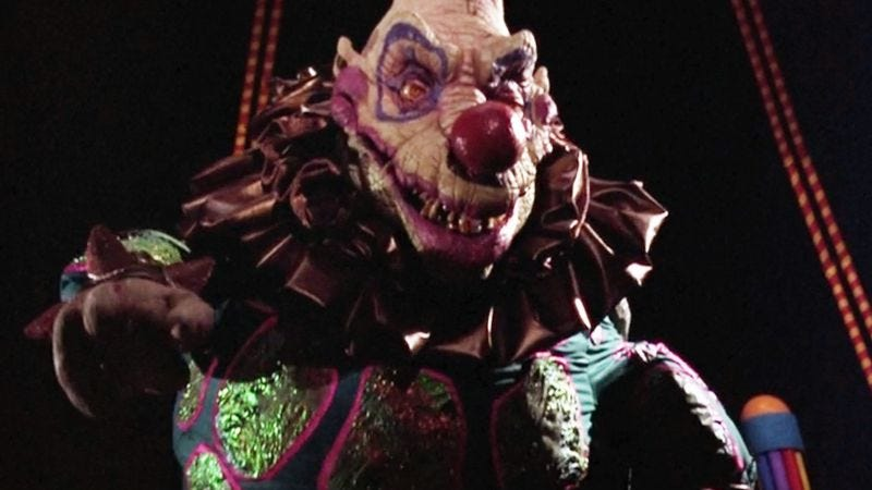 The try hard charm of killer klowns from outer space for Outer space 3d model