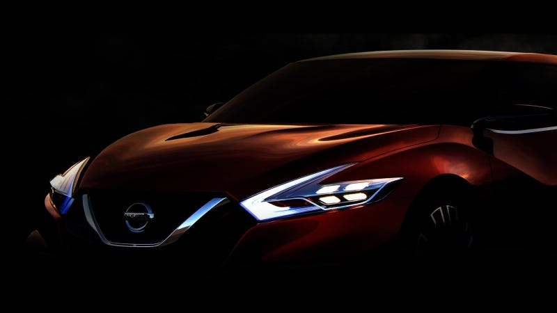 Illustration for article titled Nissan Sport Sedan Concept Set For World Debut At 2014 North American International Auto Show
