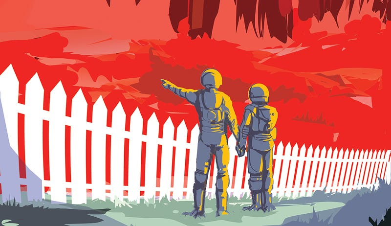 Illustration for article titled Descarga la espectacular serie completa de carteles de la NASA sobre turismo espacial