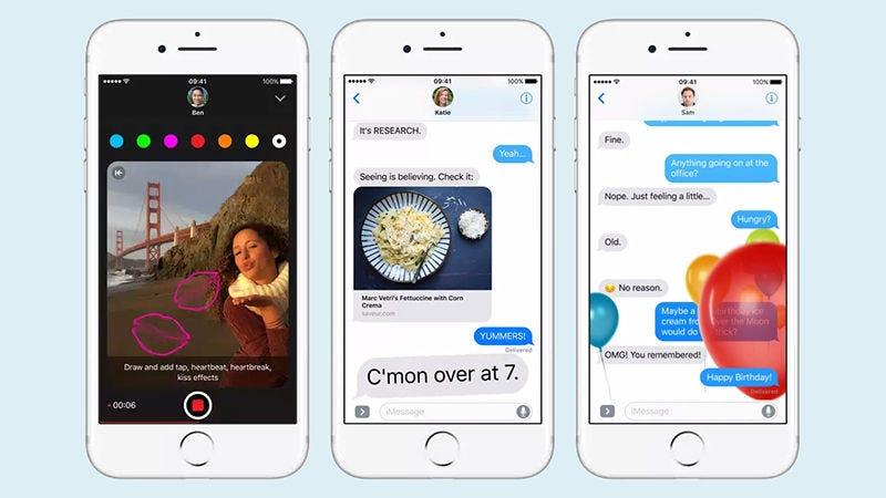 Illustration for article titled 10 trucos para convertirte en un maestro al usar la aplicación de Mensajes en tu iPhone