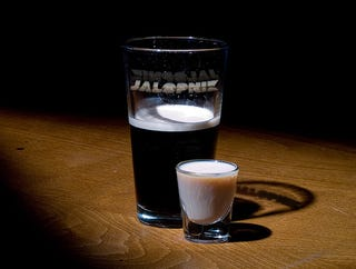 Illustration for article titled How To Make An Irish Car Bomb
