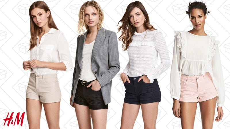2-for-$20 sale twill shorts