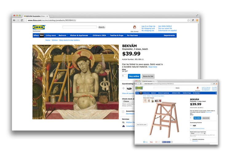 Illustration for article titled Tumblr Proves Ikea is Actually a Time-Travelling Vampire of Some Sort