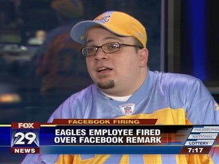 Illustration for article titled Dan Leone Will Not Stop Yapping Until The Eagles Give Him His Usher Job Back