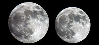 Illustration for article titled This is exactly how big the supermoon is going to be tomorrow
