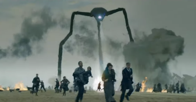 The BBC unleashes the trailer for a right proper little War Of The Worlds