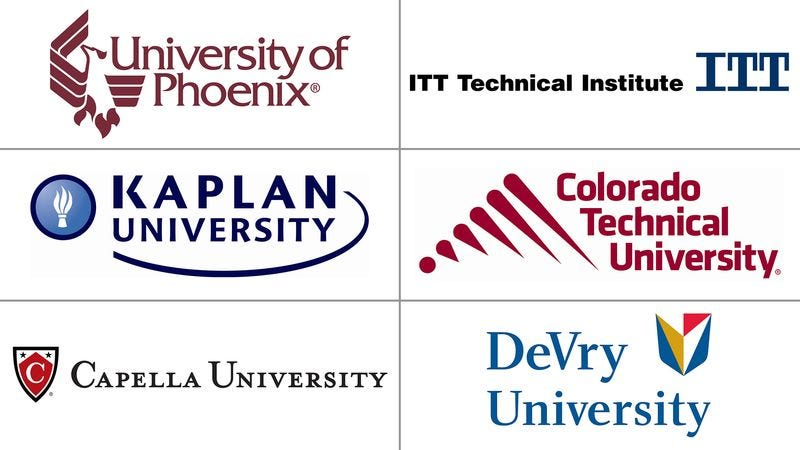 Report: Most For-Profit Colleges Started In Effort To Pay ...