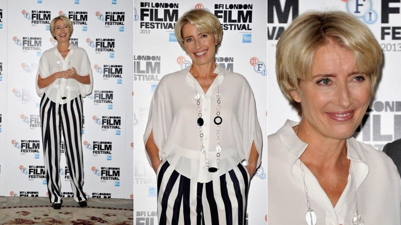 Illustration for article titled Emma Thompson Is a Member of the (Black and) White Stripes