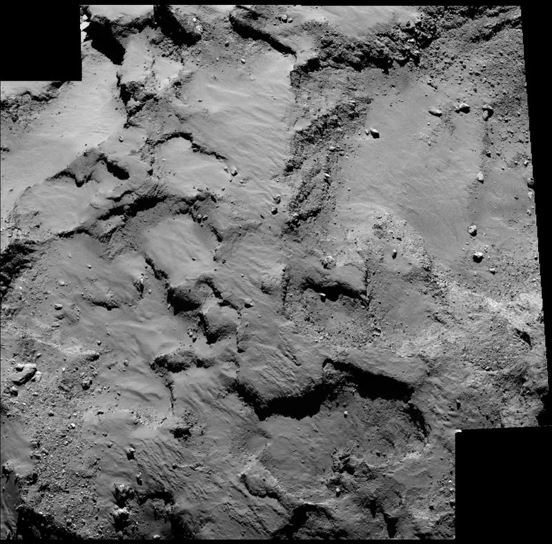 Illustration for article titled This Is Precisely Where We'll Be Landing on Comet Churyumov-Gerasimenko