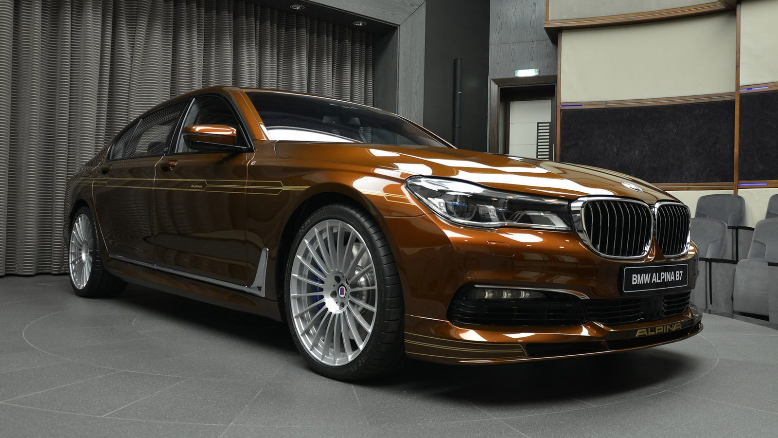 BMW M7 Price >> Custom New BMW Alpina B7 Is Offensively Brown And ...