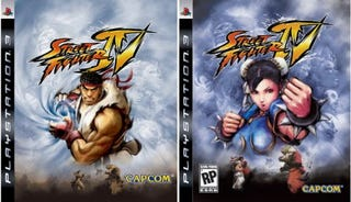 Illustration for article titled Street Fighter IV Box Art: Which Is Worse?