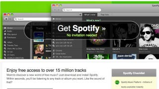 Illustration for article titled Spotify Is Now Open to Everyone, Gives You 6 Months of Unlimited Listening for Free