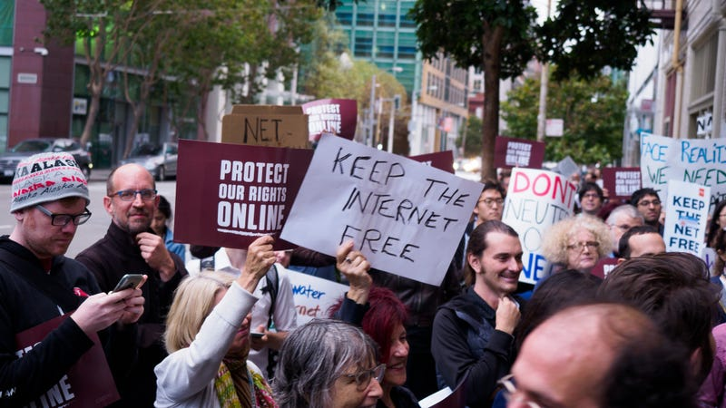 What tech companies are saying about the repeal of net neutrality rules