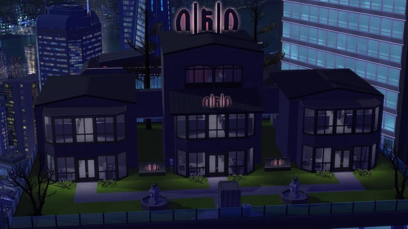 Illustration for article titled Elaborate Sims 4 Mod Turns San Francisco Into (More Of) A Cyberpunk Dystopia