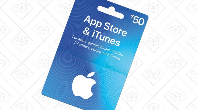 Tarjeta regalo iTunes $100, $85