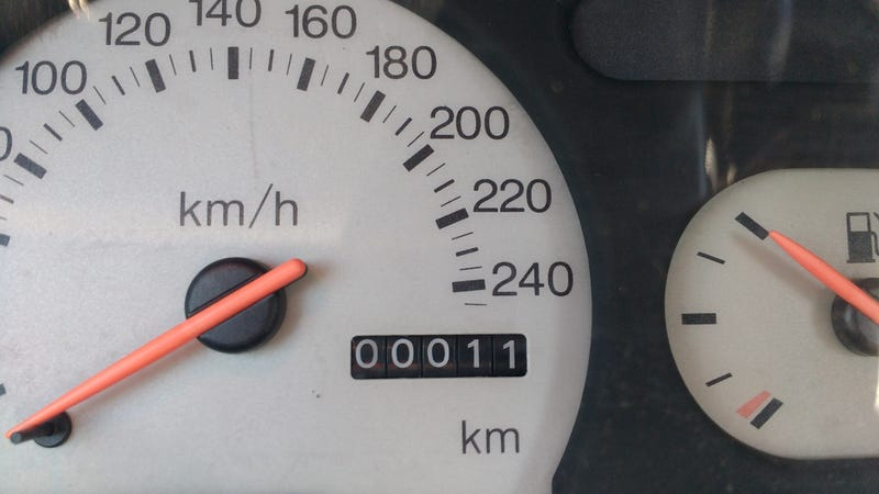 Illustration for article titled On a lighter note, my car turned low-milage today