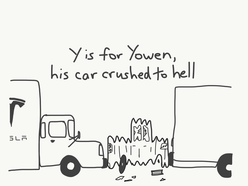 Illustration for article titled Y is for...