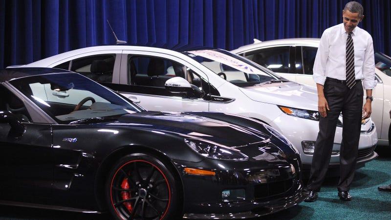Obama Car: Barack Obama Car Show: Live Photos