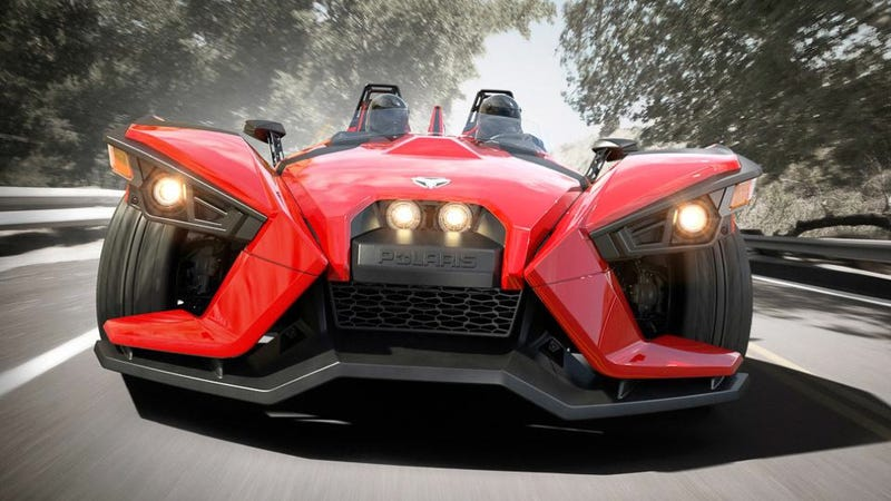 Ilration For Article Led Texas Bans The Polaris Slingshot Three Wheeler