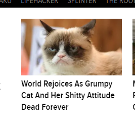Illustration for article titled The Onion has gone too far!