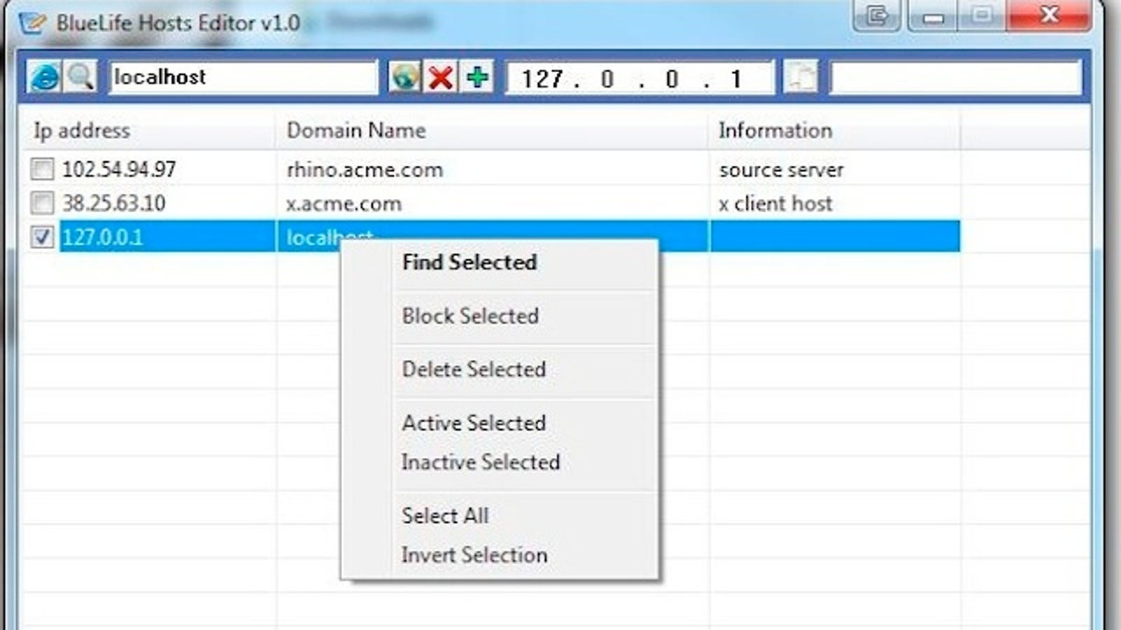 bluelife hosts editor download