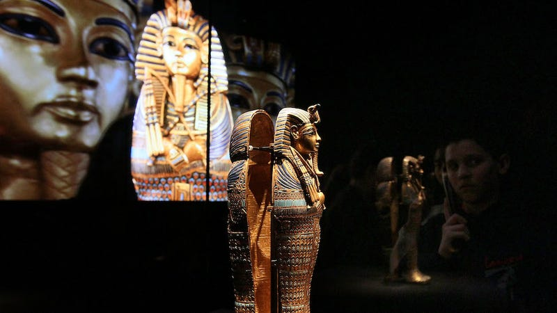 Illustration for article titled King Tut Was Embalmed With an Erection
