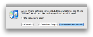 Illustration for article titled Apple iPhone 1.1.3 Firmware Update Now Available
