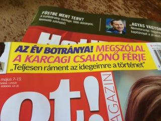 """Illustration for article titled A hét jelzős szerkezete a """"karcagi csalónő"""""""