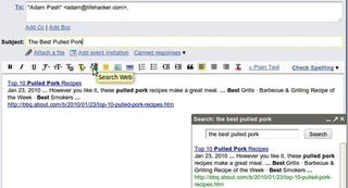 Illustration for article titled Gmail Google Search Button Makes Link Pasting Easier