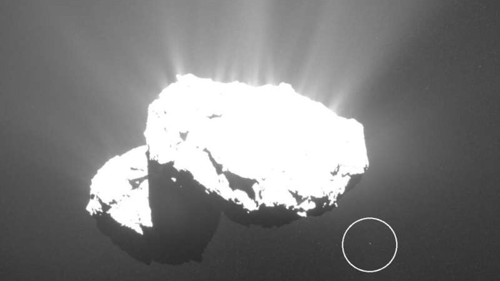Astrophotographer Discovers a Tiny 'Churymoon' Around Famous Comet