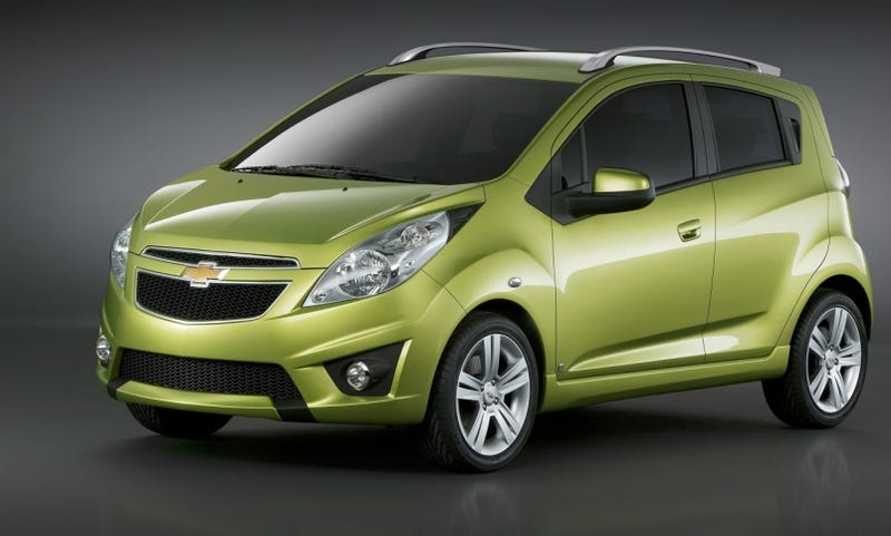 Illustration for article titled Chevy Spark Headed To Geneva