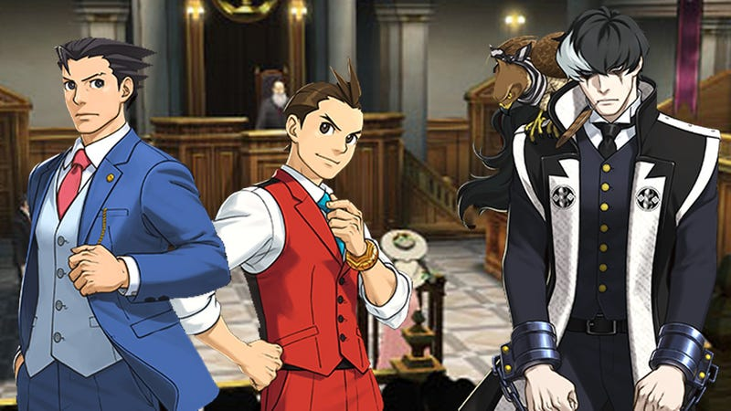 Illustration for article titled Your Rival in Ace Attorney 5 is a Criminal