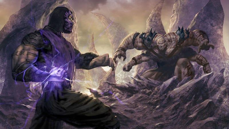 Illustration for article titled Rare Love For Mortal Kombat's Purple Rain