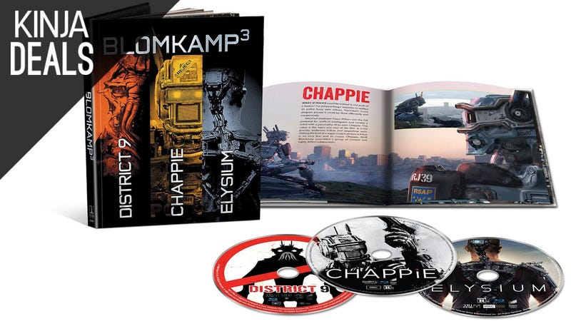 Illustration for article titled Today's Best Media Deals: Blomkamp³, Iron Man Collection, and More
