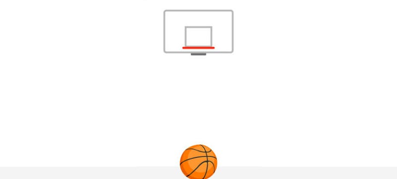 Illustration for article titled There's a Hidden Basketball Game in Facebook Messenger and Here's How to Play It