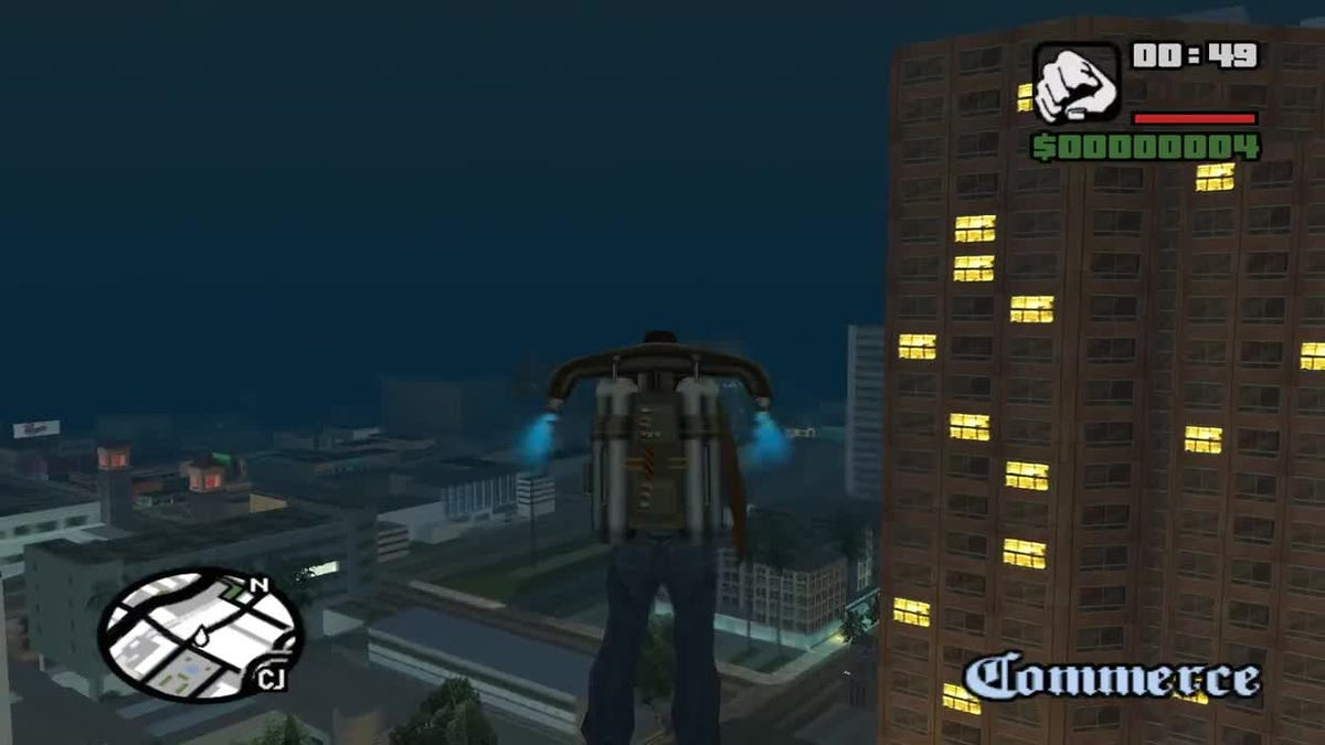 Cheating Too Much Could Break GTA San Andreas